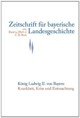 9783406111914: Zeitschrift für bayerische Landesgeschichte Band 74 Heft 2