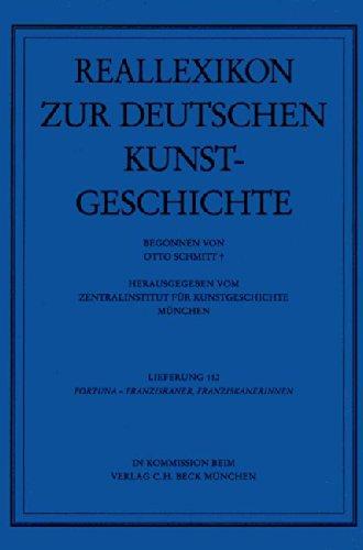 9783406142147: Reallexikon zur deutschen Kunstgeschichte: Reallexikon Dt. Kunstgeschichte 112. Lieferung: Fortuna - Franziskaner/Franziskanerinnen
