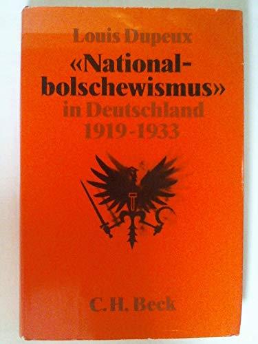 9783406304446: National Bolschewismus in Deutschland 1919 - 1933
