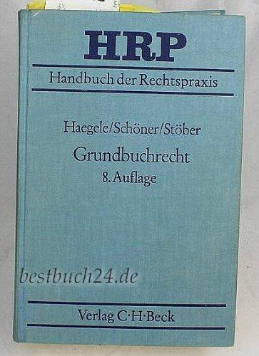 9783406309977: Grundbuchrecht