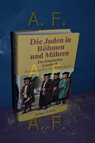 9783406311055: Die Juden in Böhmen und Mähren: Ein historisches Lesebuch