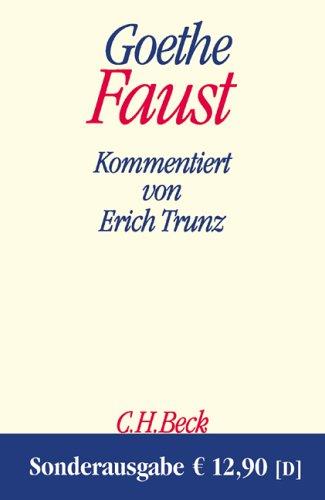 9783406312342: Faust: Der Tragödie erster und zweiter Teil. Urfaust