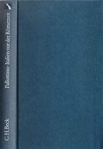 9783406320125: Italien vor der Römerzeit
