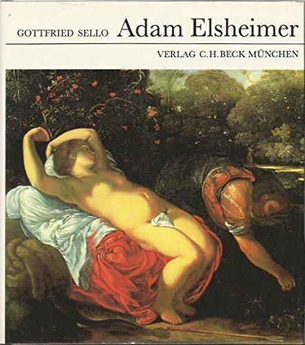 9783406320262: Adam Elsheimer