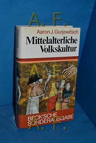 9783406321634: Mittelalterliche Volkskultur