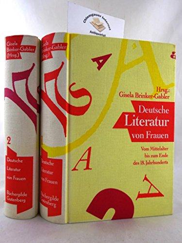 Deutsche Literatur von Frauen