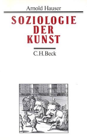 9783406330230: Soziologie der Kunst.