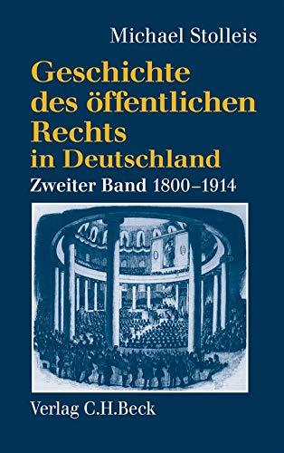 Geschichte des öffentlichen Rechts in Deutschland Staatsrechtslehre und ...