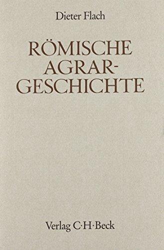 9783406339899: Römische Agrargeschichte (Handbuch der Altertumswissenschaft) (German Edition)