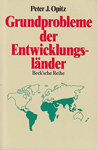 9783406340437: Grundprobleme der Entwicklungsländer