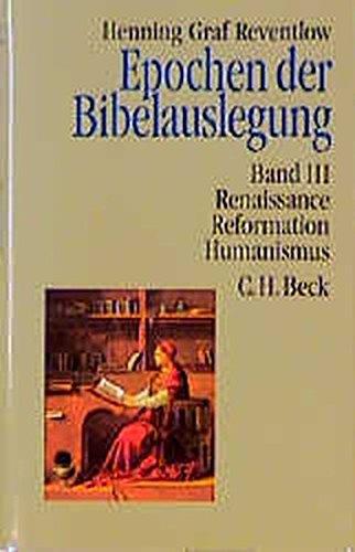 9783406349874: Epochen der Bibelauslegung 3