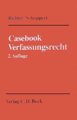 9783406353772: Casebook Verfassungsrecht