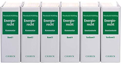 9783406364648: Energierecht (mit Fortsetzungsnotierung). Inkl. 88. Ergänzungslieferung: Energiewirtschaftsgesetz mit Verordnungen, EU-Richtlinien, ... Fortsetzung (min. 3 Ergänzungslieferungen)