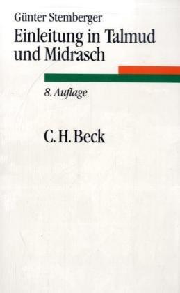Einleitung in Talmud und Midrasch - Stemberger, Günther