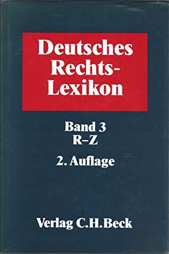 Deutsches Rechts-Lexikon, Bände 1 bis 3, Rechtslexikon: Tilch, Horst