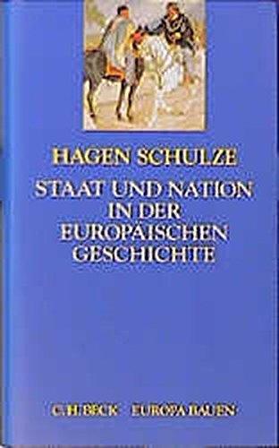 9783406385070: Staat und Nation in der europäischen Geschichte (Europa bauen)