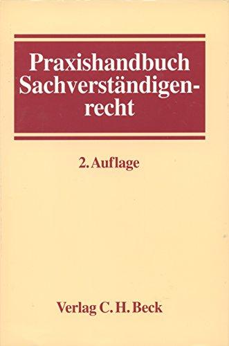 9783406388880: Praxishandbuch Sachverständigenrecht
