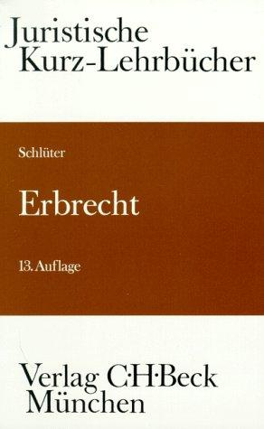9783406390517: Erbrecht. Ein Studienbuch