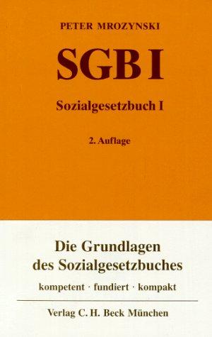 9783406396878: Sozialgesetzbuch, Allgemeiner Teil (SGB I), Kommentar (Livre en allemand)