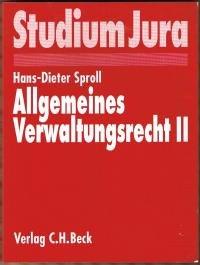 9783406413544: Allgemeines Verwaltungsrecht, Bd.2