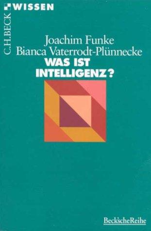 9783406418884: Was ist Intelligenz?