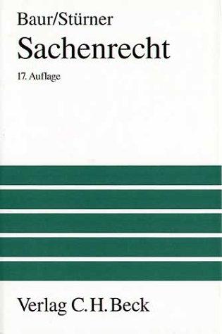 9783406419973: Sachenrecht (German Edition)