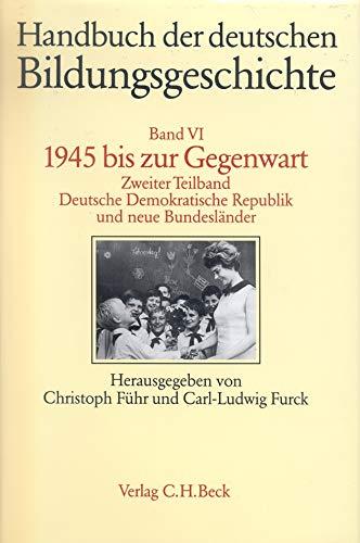 1945 bis zur Gegenwart: Christoph Führ