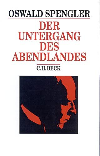 9783406441967: Der Undergang DES Abendlandes (German Edition)