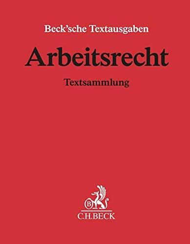 Arbeitsrecht Textsammlung Von Hans Carl Nipperdey Beck C H