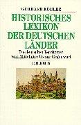 9783406443336: Historisches Lexikon der deutschen Länder. Die deutschen Territorien und reichsunmittelbaren Geschlechter vom Mittelalter bis zur Gegenwart.
