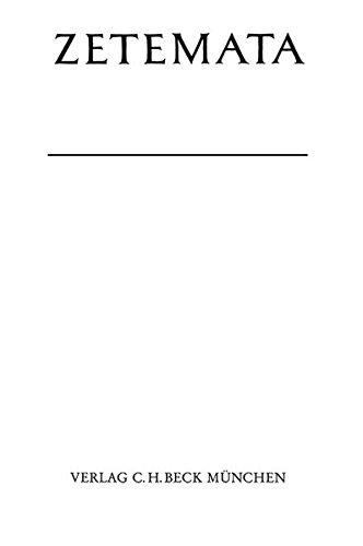 """9783406448607: Die konstruktion der handlung in der Orestie des Aischylos: Die Makrostruktur des """"Plots"""" als Sinnträger in der Darstellung des Geshlechterfluchs (Zetemata) (German Edition)"""