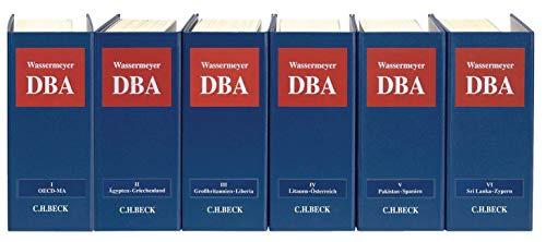 9783406451430: Doppelbesteuerung (mit Fortsetzungsnotierung). Inkl. 136. Ergänzungslieferung: Loseblatt-Kommentar zu allen deutschen Doppelbesteuerungsabkommen - ... Fortsetzung (min. 3 Ergänzungslieferungen)