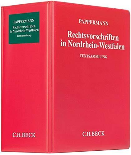 Rechtsvorschriften in Nordrhein-Westfalen mit Fortsetzungsn