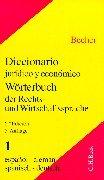 9783406451614: Wörterbuch der Rechts- und Wirtschaftssprache (German Edition)