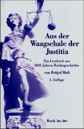 9783406452079: Aus der Waagschale der Justitia.