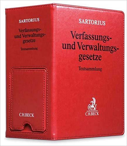 Verfassungs- und Verwaltungsgesetze 1 der Bundesrepublik Deutschland: Carl Sartorius