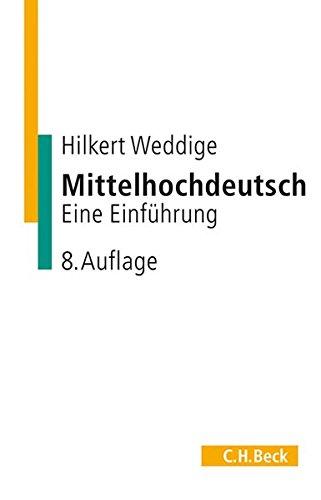 9783406457449: Mittelhochdeutsch. Eine Einführung.