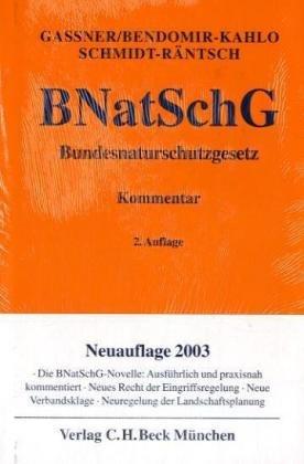 9783406458484: Bundesnaturschutzgesetz (BNatSchG)