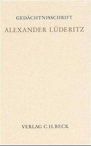 Alexander Lüderitz: Haimo Schack