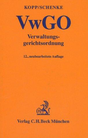 9783406469268: Verwaltungsgerichtsordnung ( VwGO).