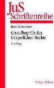 9783406470875: JuS-Schriftenreihe, H.84, Grundbegriffe des Bürgerlichen Rechts