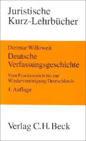 9783406471193: Deutsche Verfassungsgeschichte.