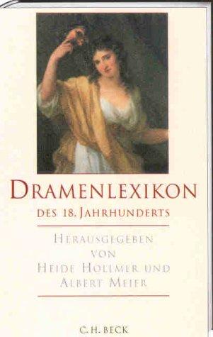 9783406474514: Dramenlexikon des 18. Jahrhunderts