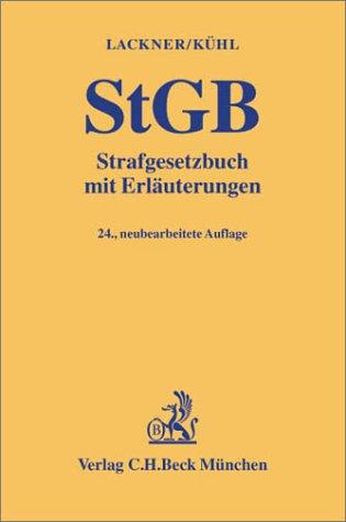 9783406477324: Strafgesetzbuch (StGB). Mit Erläuterungen.