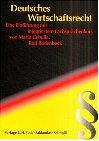 9783406477836: Deutsches Wirtschaftsrecht.