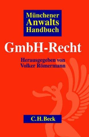 9783406478482: Münchener Anwaltshandbuch GmbH- Recht.