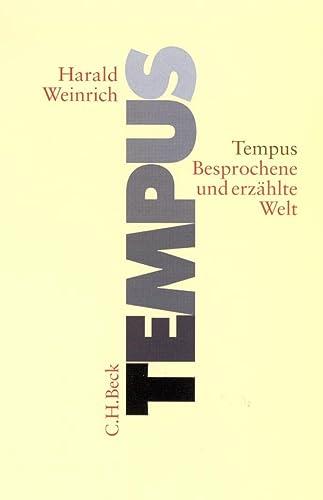 9783406478765: Tempus: Besprochene und erzählte Welt