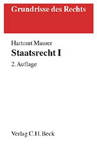 9783406478871: Staatsrecht (Livre en allemand)