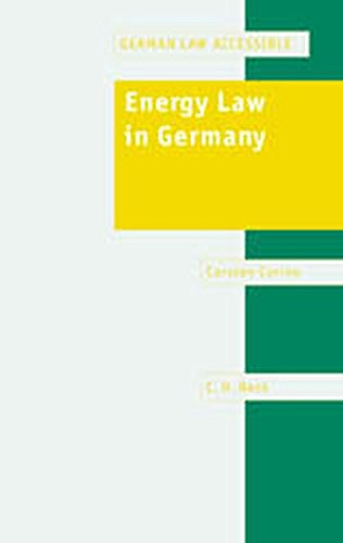 Energy Law in Germany: Carsten Corino