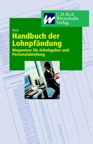 9783406487705 handbuch der lohnpfndung wegweiser fr arbeitgeber und personalabteilungen - Kndigungsbesttigung Arbeitgeber Muster